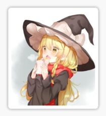 Cute anime girl Sticker