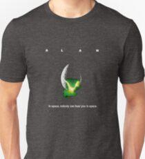 Alan - Alien-Parodie Slim Fit T-Shirt