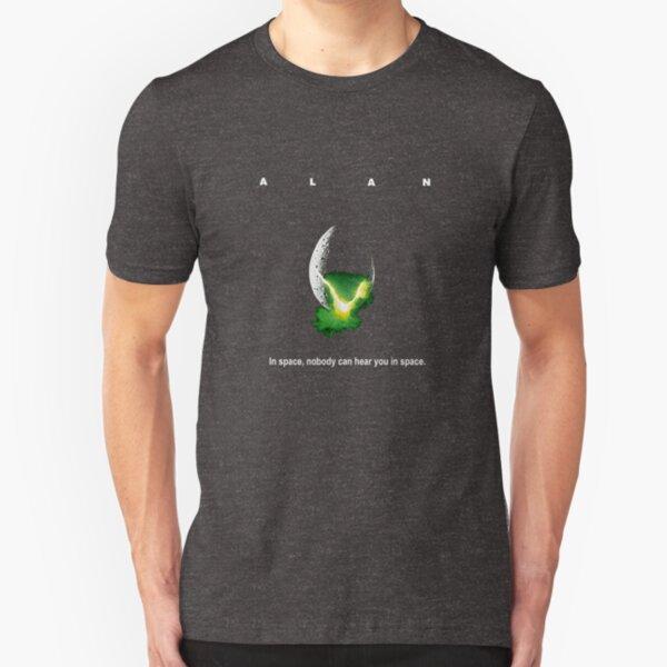 Alan - Alien parody Slim Fit T-Shirt