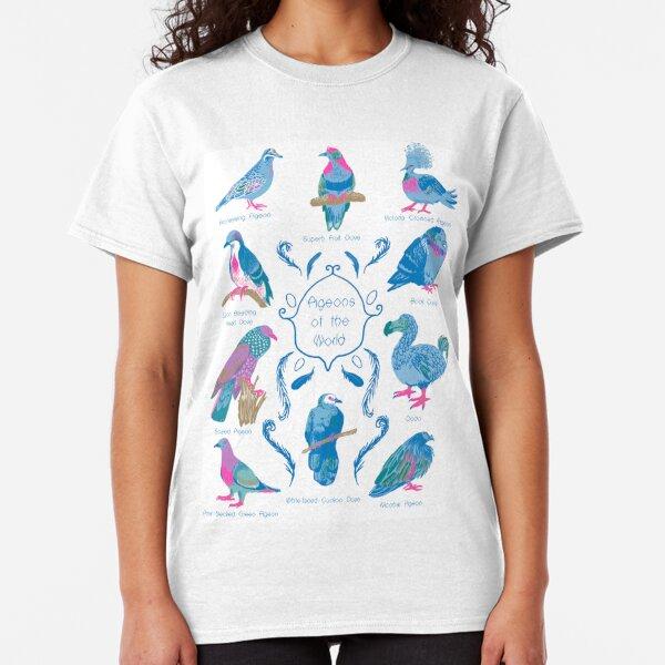 Pigeons of the World! Classic T-Shirt