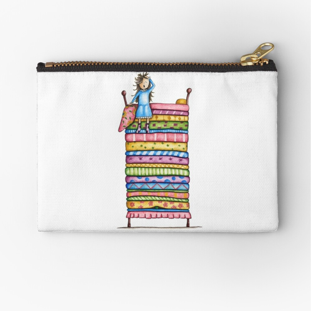 Princess and the Pea Zipper Pouch