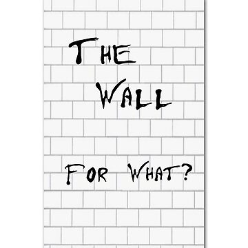 The Wall for What? by Nortonrf
