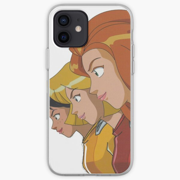 totally spies portrait Coque souple iPhone