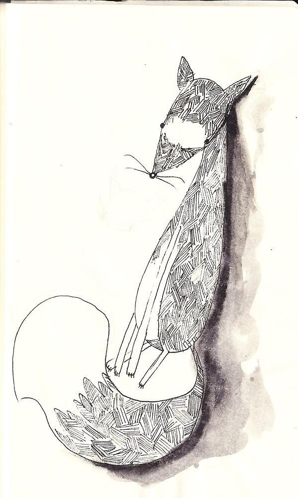 Sly Mr Fox by KrystalRed
