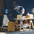 Neal's Yard Cheese Cutter by Bob  Perkoski