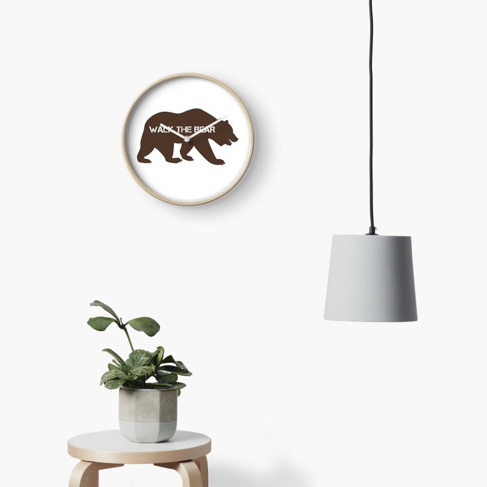 Walk the bear (Plimba ursu') Clock