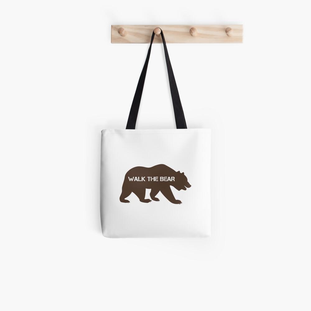 Walk the bear (Plimba ursu') Tote Bag