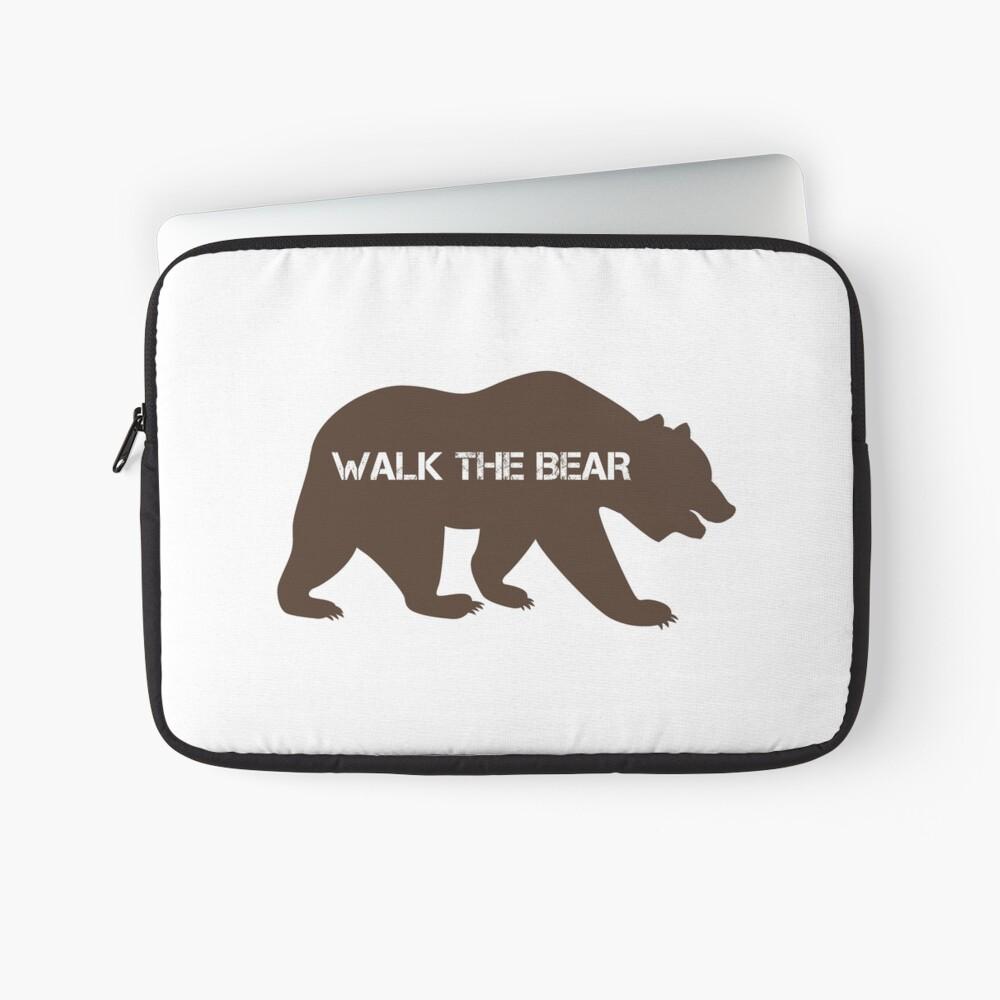 Walk the bear (Plimba ursu') Laptop Sleeve