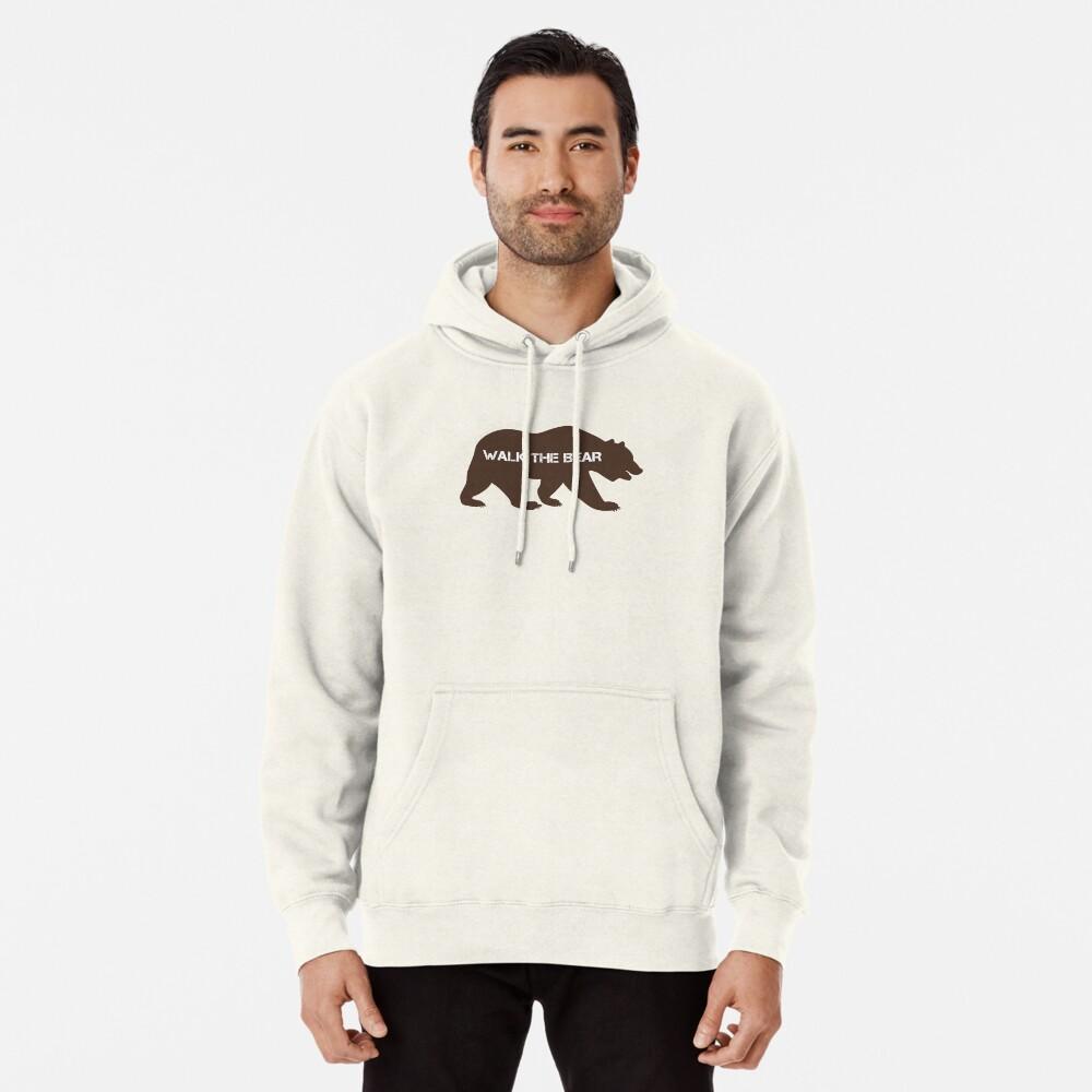 Walk the bear (Plimba ursu') Pullover Hoodie