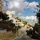 Steep street, Finestrat by onlyalice