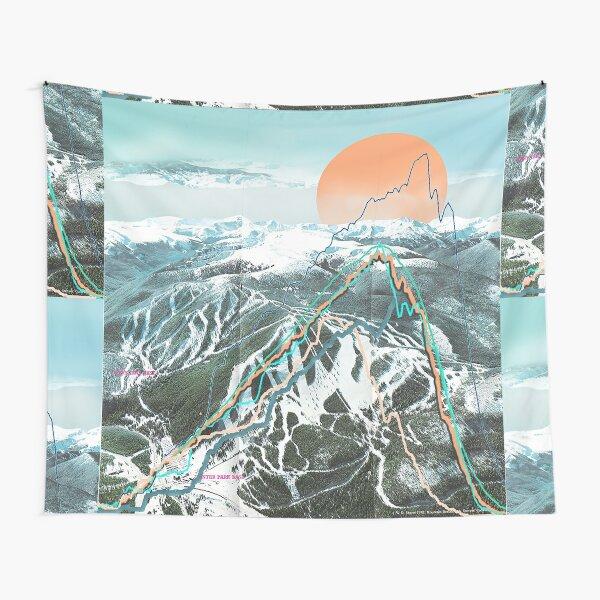 Ski Map Tapestry