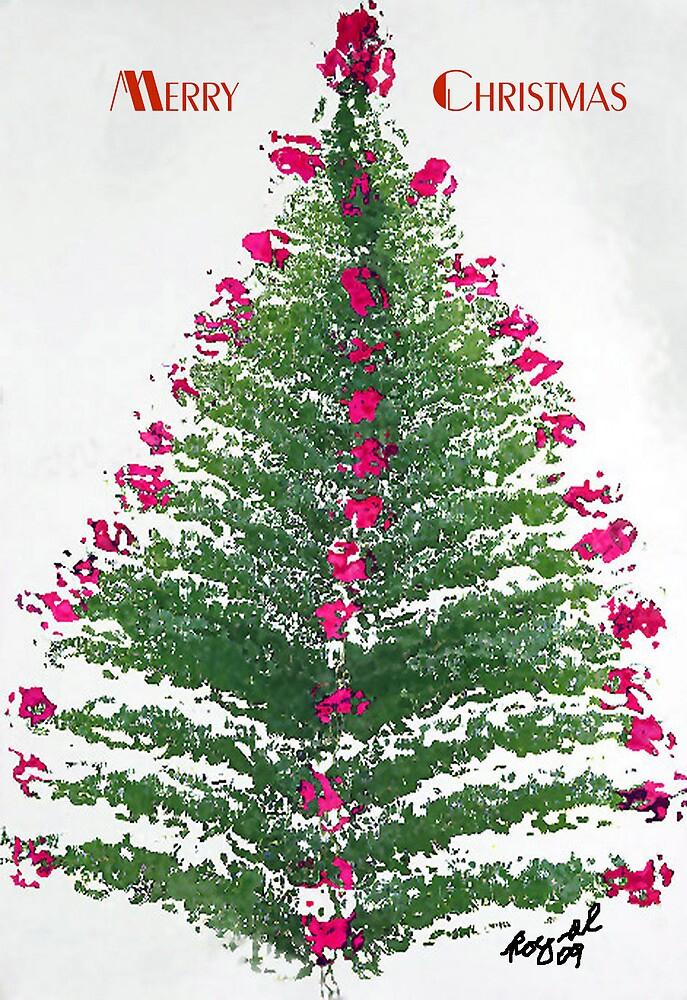 A Christmas Tree Bush by RoyAllen Hunt