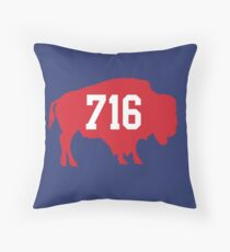 716 : Red Throw Pillow