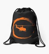 helicopter Drawstring Bag
