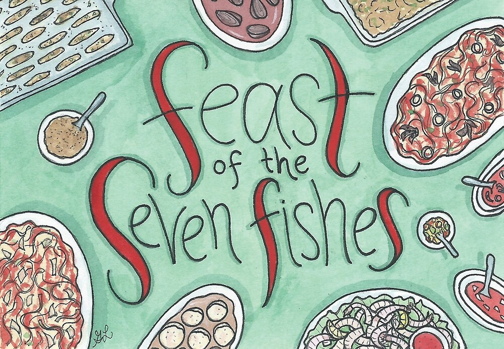 Feast of the Seven Fishes by Gina Lorubbio