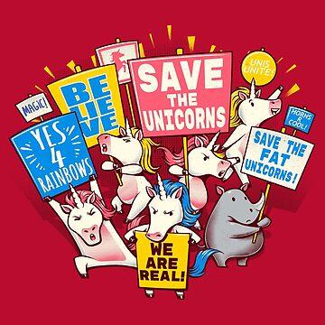 Save the Unicorns! Save the fat unicorns! by tobiasfonseca