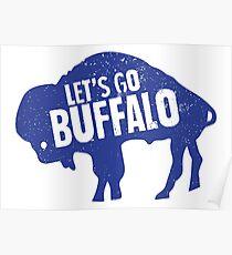 Lass uns gehen, Buffalo II Poster