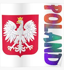 Poland - Coat of Arms Poster