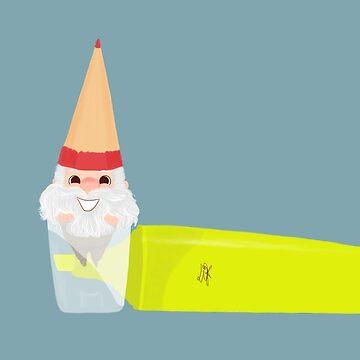 Pencil Gnome 07 by liajung