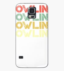vintage bowling - retro bowling  Case/Skin for Samsung Galaxy