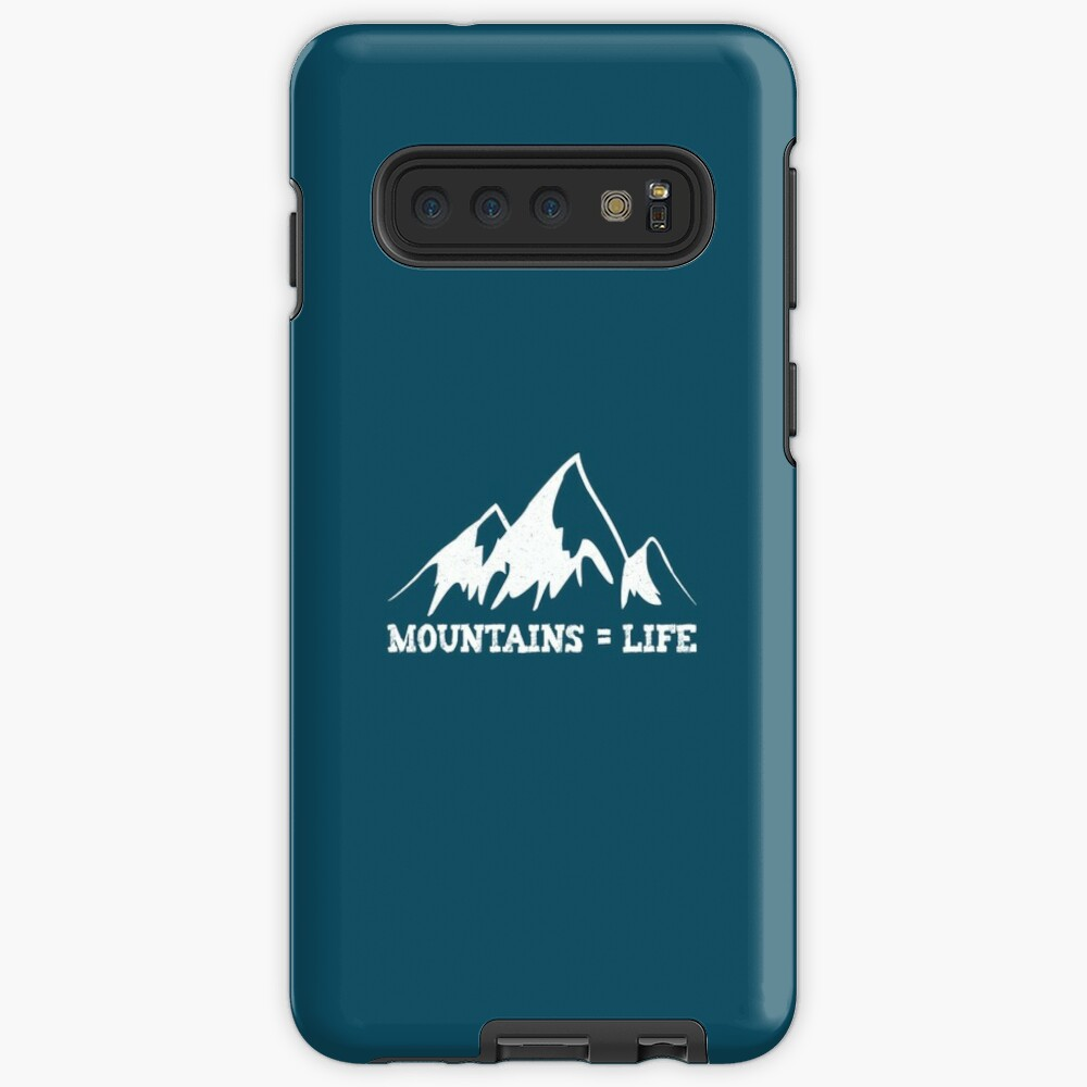 Mountains = life Case & Skin for Samsung Galaxy