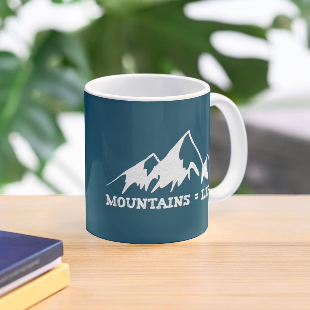 Mountains = life Mug