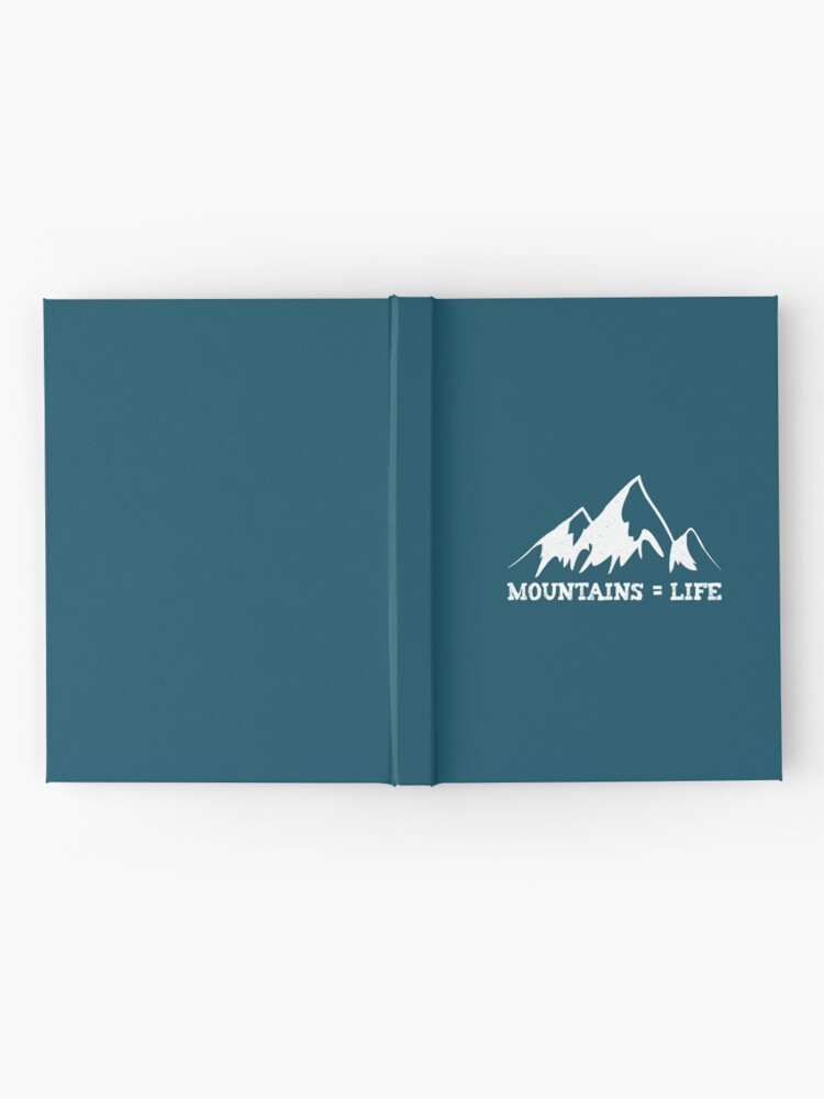 Alternate view of Mountains = life Hardcover Journal