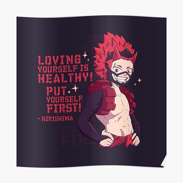 Motivational Kirishima Poster