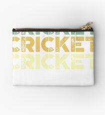 vintage cricket - retro cricket  Studio Pouch