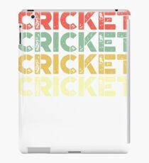 vintage cricket - retro cricket  iPad Case/Skin