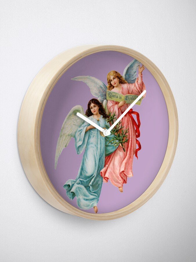 Alternate view of Angels Clock