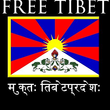 FREE TIBET by Yago