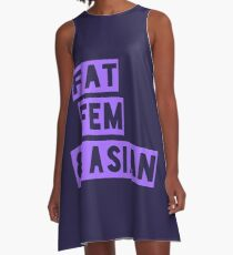 Fat, Fem & Asian 2 A-Line Dress