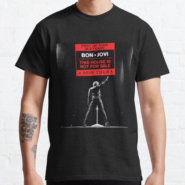 uk bon tour jovi 2019 duasatu Classic T-Shirt