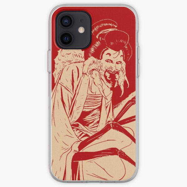 Geisha- Red iPhone Soft Case