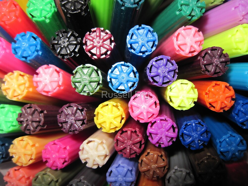 Pen Caps by Russell Fry