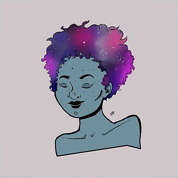 Galaxy Girl by SofiaColfer