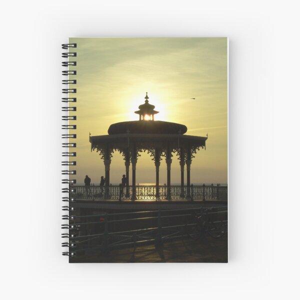 Victorian Bandstand - Brighton Beach Spiral Notebook