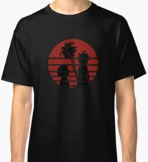 Rick and Morty Sunset Classic T-Shirt