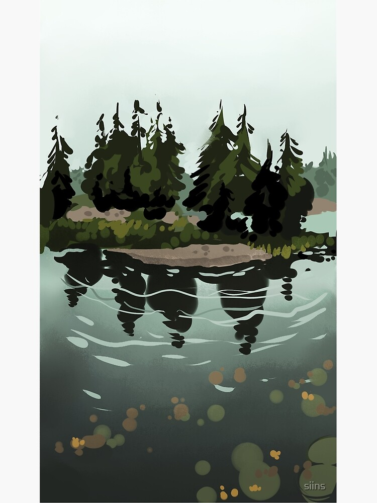 Lake Island by siins