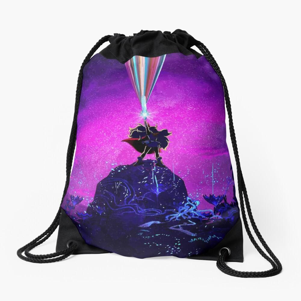Princess of Power Drawstring Bag