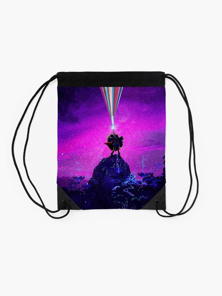 Alternate view of Princess of Power Drawstring Bag