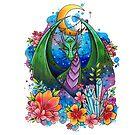 Mystical Dragon by lornalaine