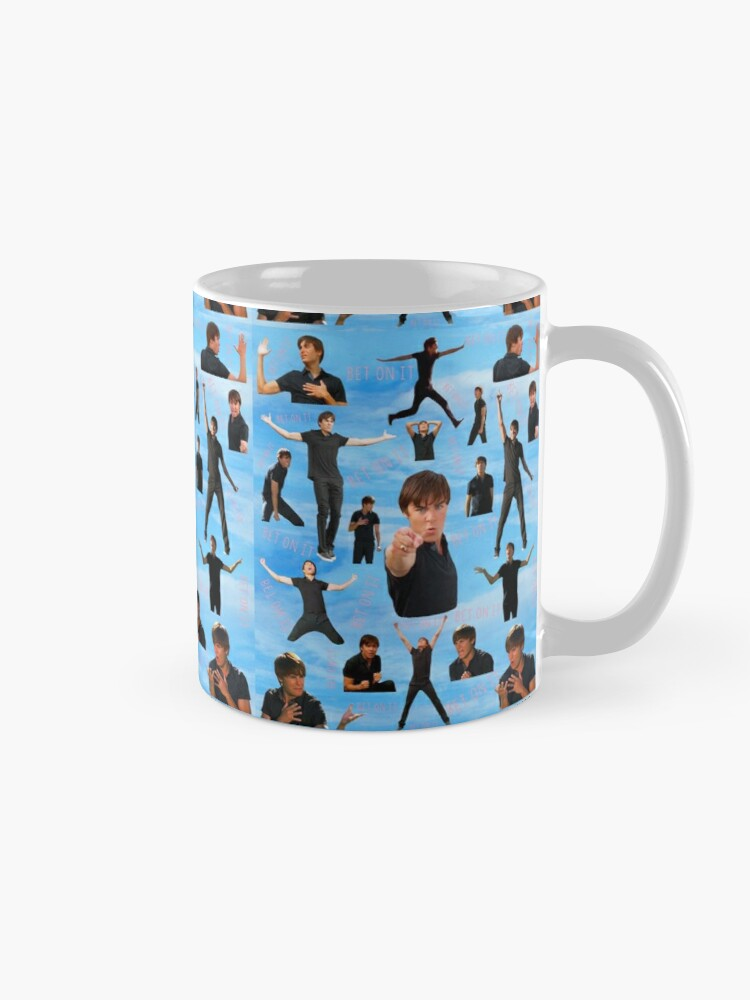 Alternate view of Zac Efron Troy Bolton Bet On It  High School Musical Mug