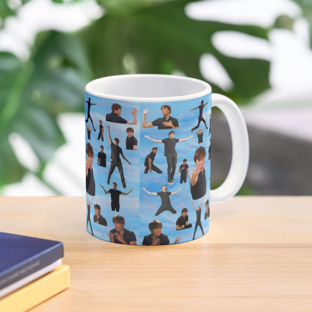 Zac Efron Troy Bolton Bet On It  High School Musical Mug