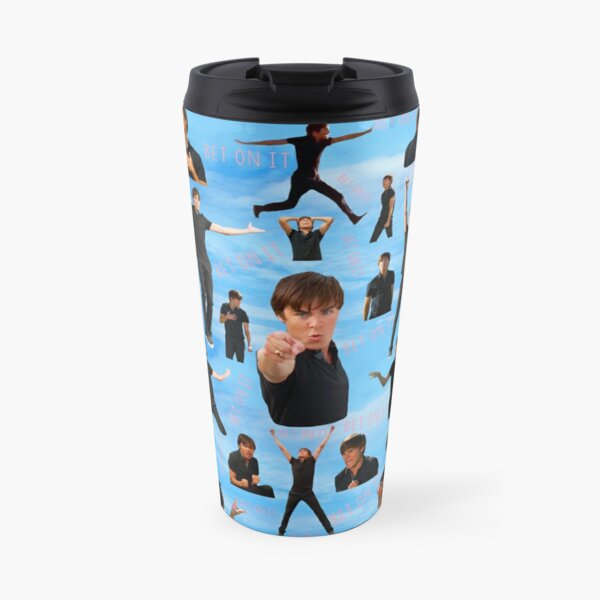 Zac Efron Troy Bolton Bet On It  High School Musical Travel Mug