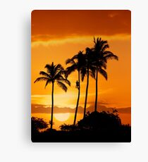 6:15 PM Hawaii Time Canvas Print