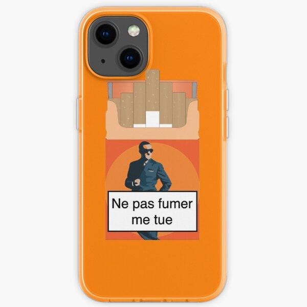 Kein Rauchen bringt mich um! OSS 117 iPhone Flexible Hülle