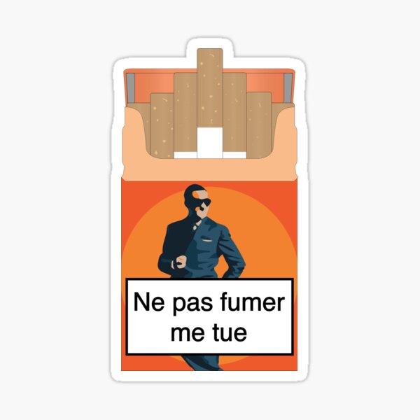 Ne pas fumer me tue ! OSS 117 Sticker