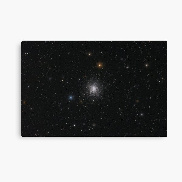 Globular star cluster (M13) Canvas Print